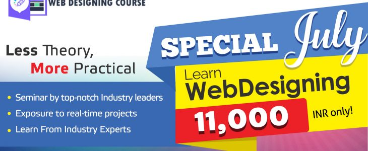 Special July Offer for Web Designing Course at Zuan Education