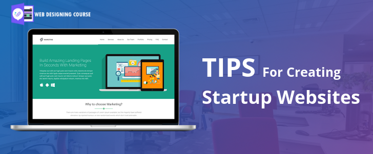 Tips to Creating Startup Websites