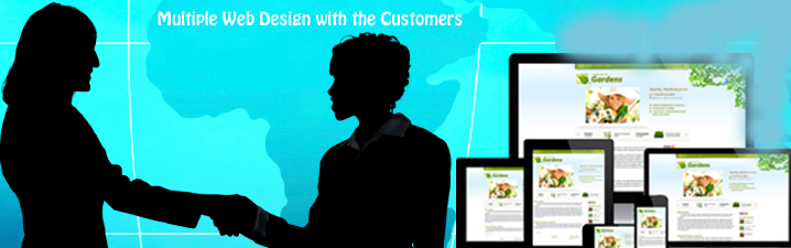 Multiple Web Design with the Customers