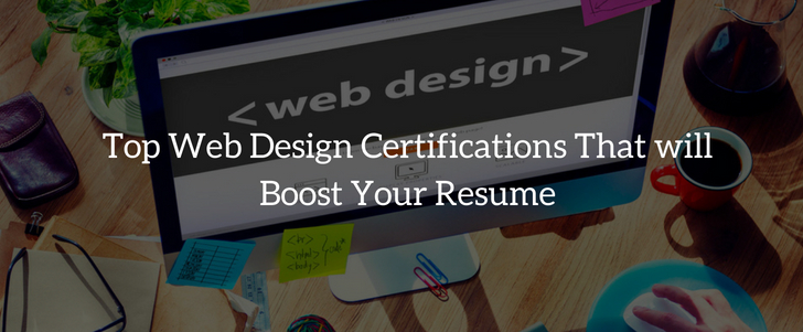 Top Web Design Certifications