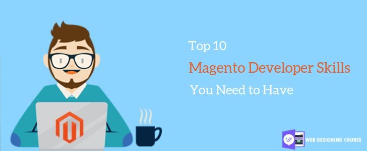 Magento developer skills
